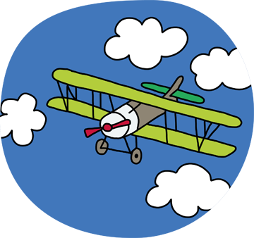 Illustration Flugzeug