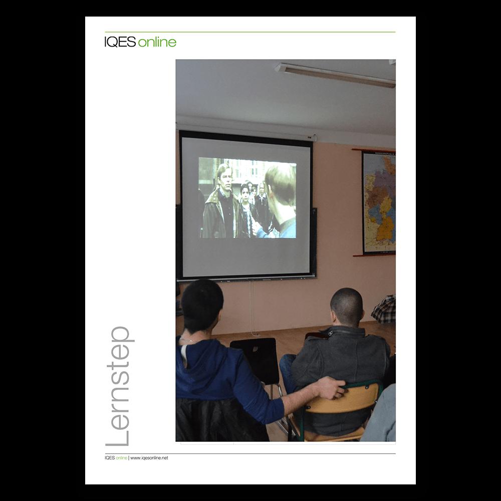 Titelseite des LernSteps Filmprotokoll