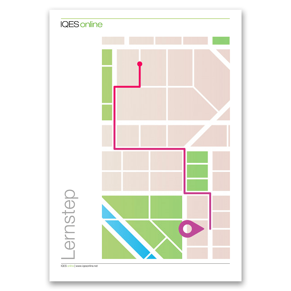 Titelseite des LernSteps Stadtplan