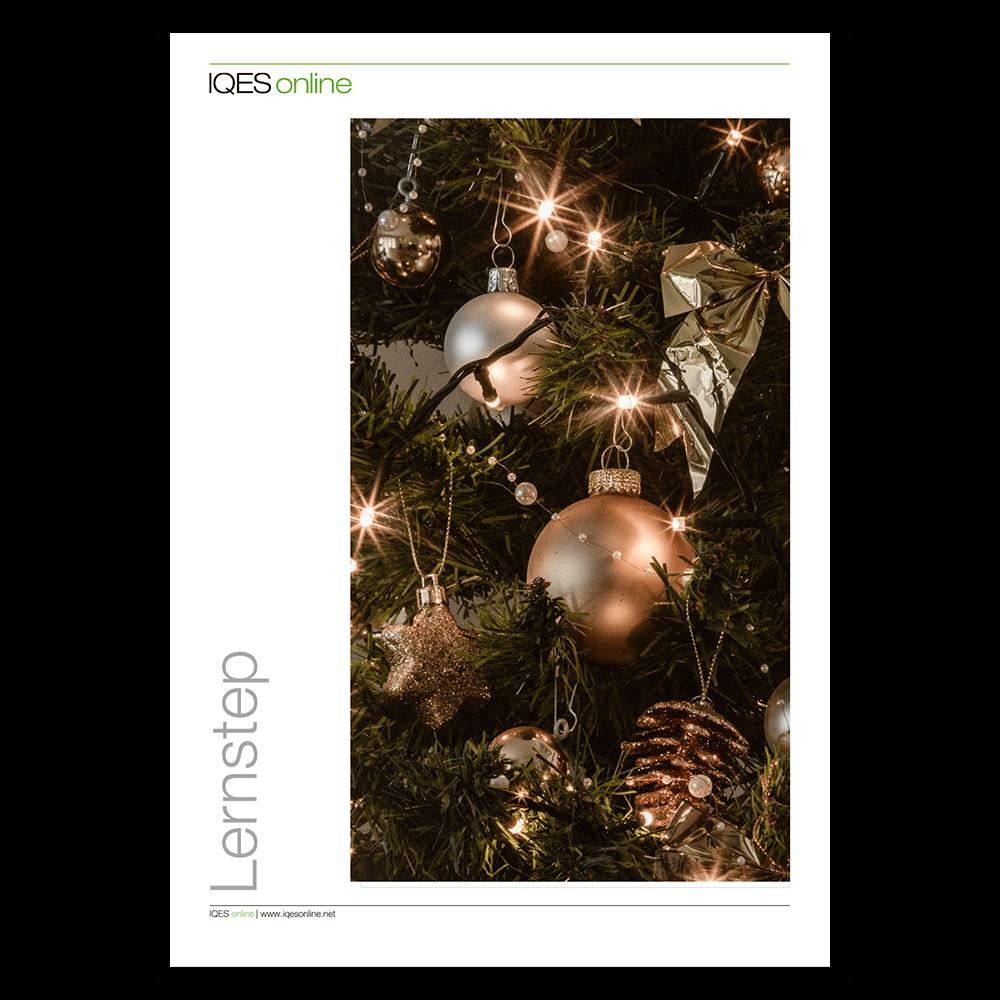 Titelseite des LernSteps Weihnachtsgeschichte