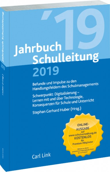 Cover Jahrbuch Schulleitung 2019