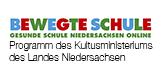 Logo Bewegte Schule Gesunde Schule Niedersachsen