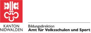 Logo Kanton Nidwalden Bildungsdirektion Amt für Volksschulen und Sport