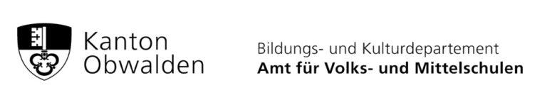 Logo Kanton Obwalden Bildungs- und Kulturdepartement Amt für Volks- und Mittelschulen