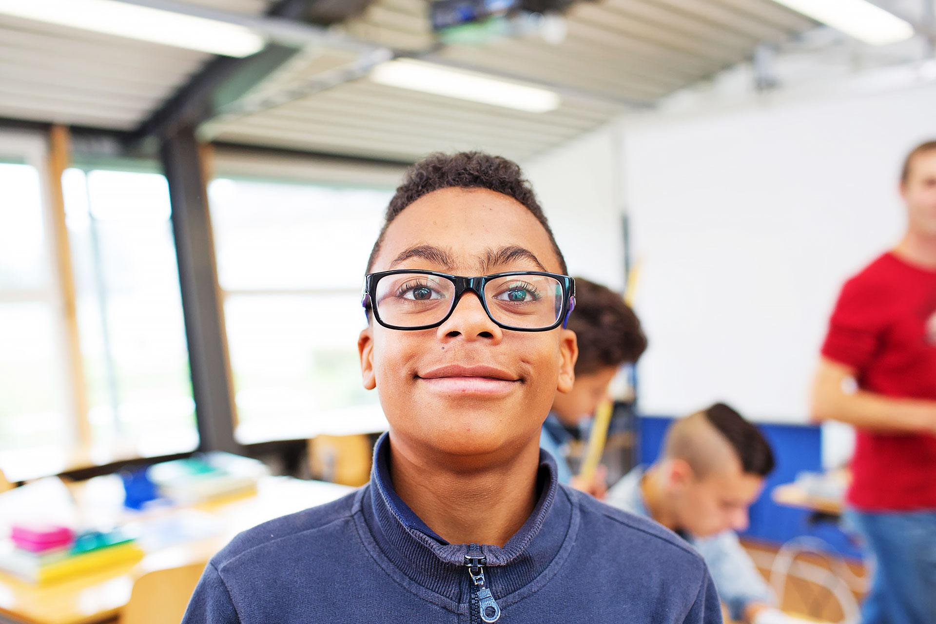 Portrait eines Schülers