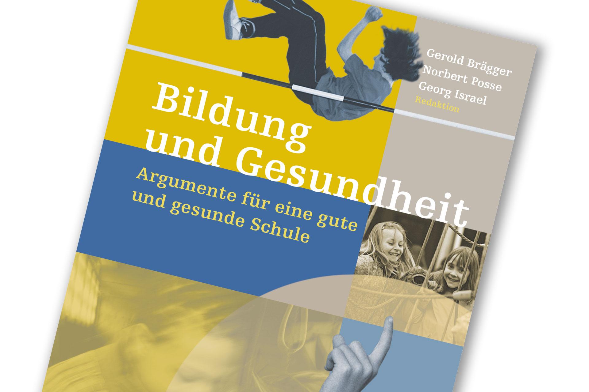 Titelseite der Publikation Bildung und Gesundheit (Reader)