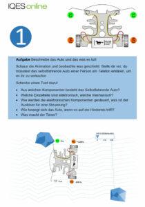 Selbstfahrendes Auto: Aufgabe 1