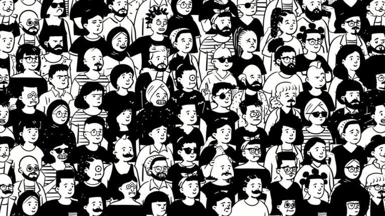 zur Bibliothek Open Peeps mit gezeichneten Personen