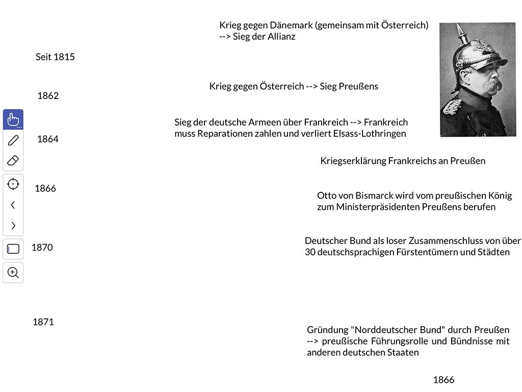 Explain Everything: Beispiel Geschichtsunterricht
