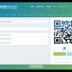 Screenshot QRCode Monkey