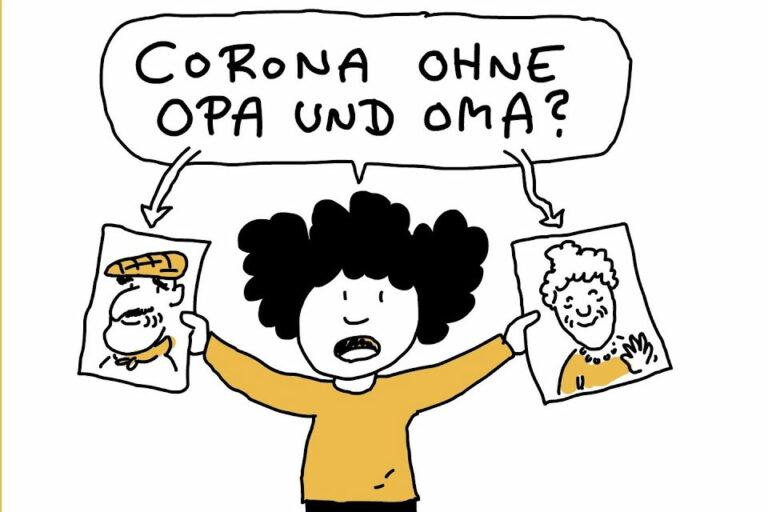 Screenshot Corona ohne Opa und Oma
