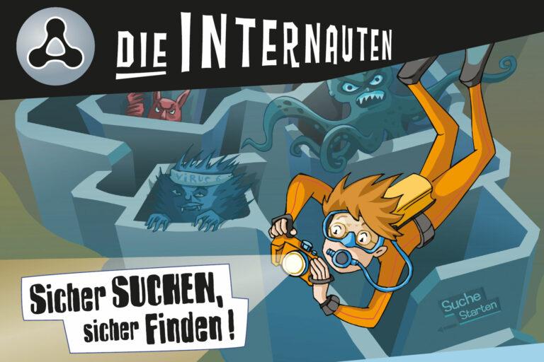 Screenshot Webseite die Internauten