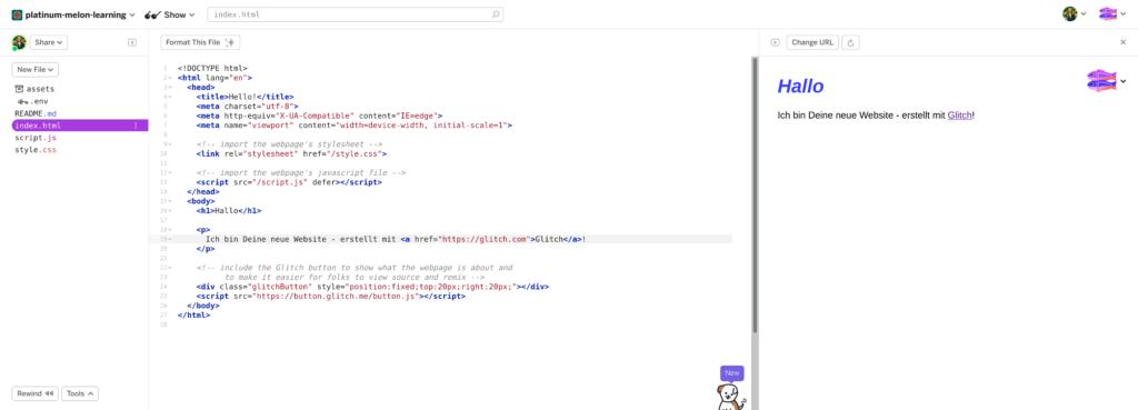 Screenshot Glitch