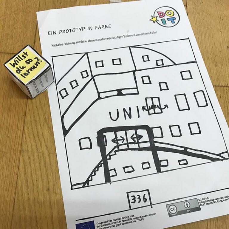 Prototyp-Zeichnung für die make.city