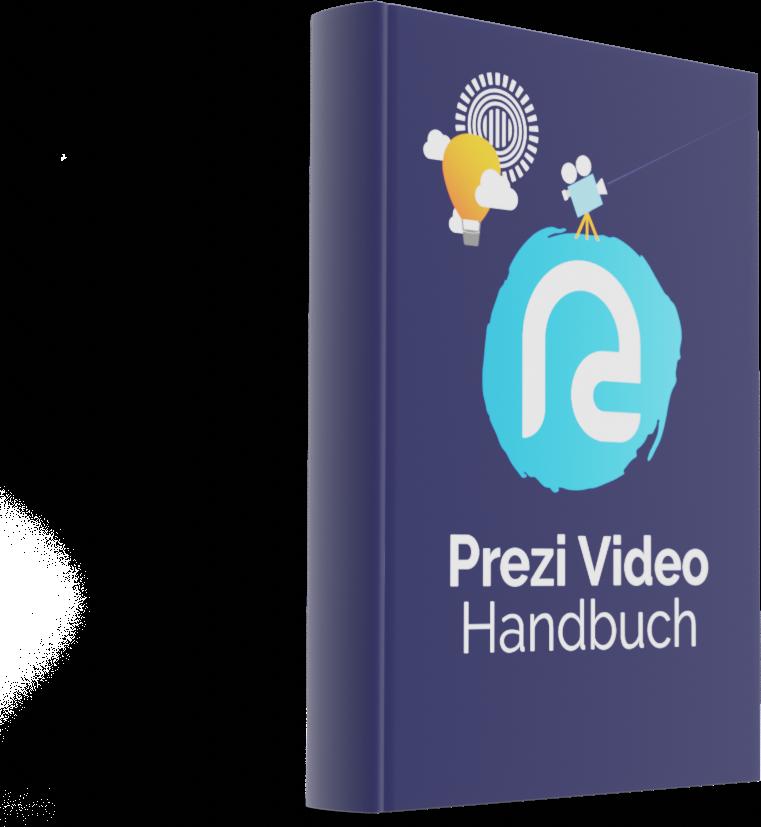 Titelseite des Prezi Video Handbuchs