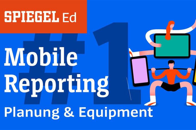 Screenshot Webseite Spiegel Mobile Reporting