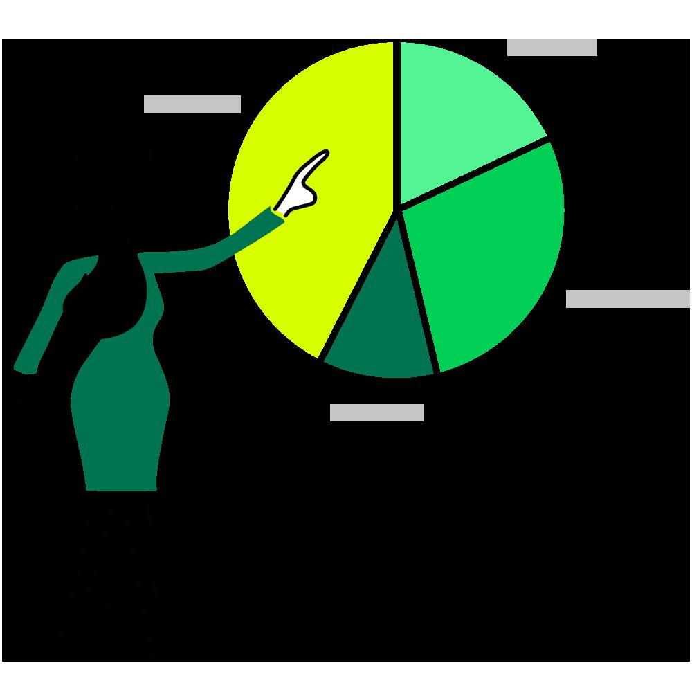 Illustration Evaluation Auswertung