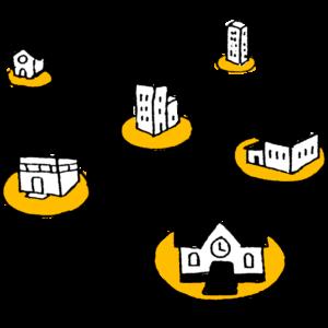 Illustration zum IQES-Netzwerk