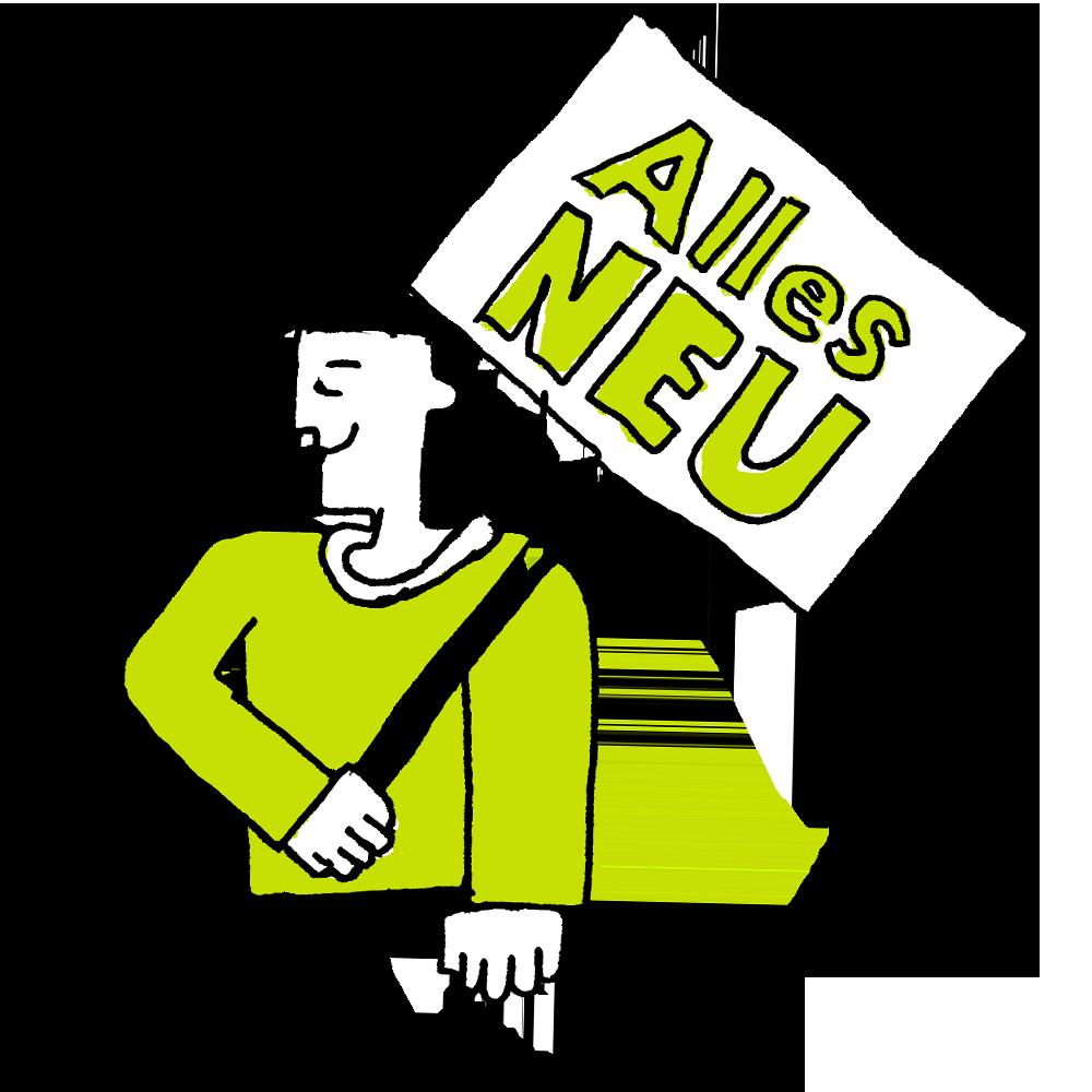 Illustration zum Thema Neuigkeiten