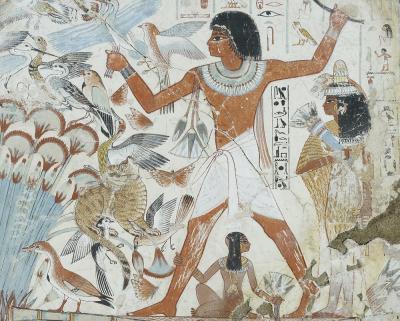 Nebamun Grabmalerei
